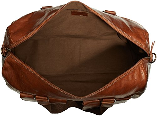 Bruno Banani - Force, Borsa a tracolla, unisex Beige (Cognac)