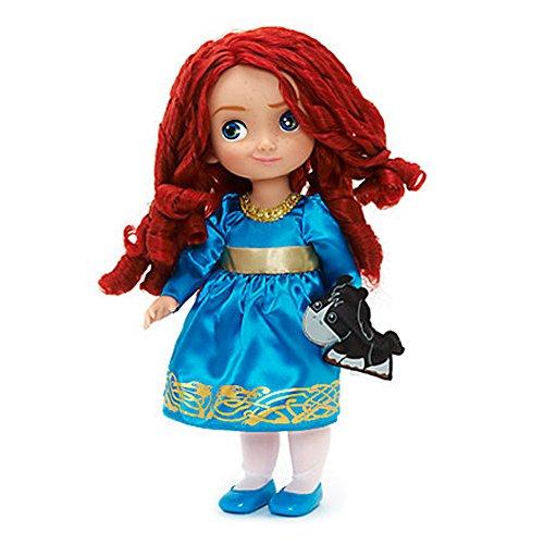 Disney Oficial Mérida Brave 38cm animador del niño muñeca con accesorios Angus