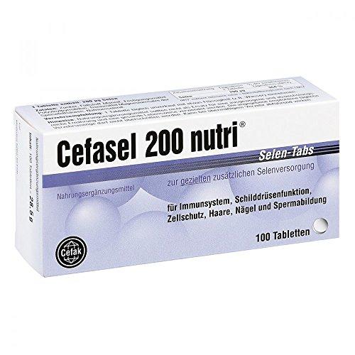 Cefasel 200 nutri Selen-Tabs, 100 St. Tabletten