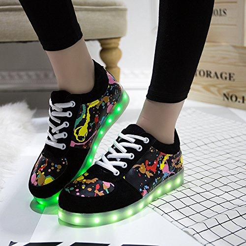 Unbekannt, Sneaker donna 43 nero, da uomo