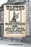 Savannah Cat Wanted Poster Journal