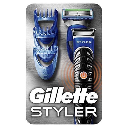 Gillette 3-in-1 Styler Barttrimmer, Rasierer und Definierer (Fusion Proglide Gillette Rasierer)