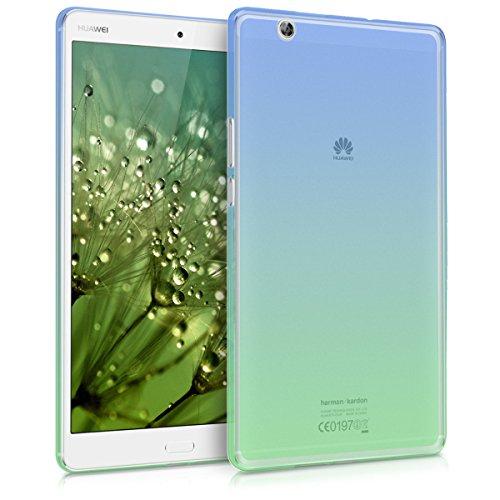 Kwmobile huawei mediapad m3 8.4 cover - custodia tablet in silicone tpu - copertina protettiva tab - backcover per huawei mediapad m3 8.4