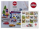 Siku 9216 - Calendario 2016, soggetto: auto e mezzi di trasporto