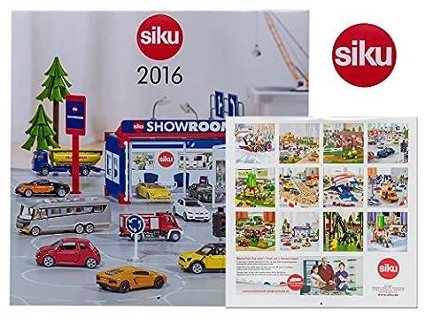 Siku 9216 - SIKU Kalender 2016, Auto- und Verkehrsmodelle
