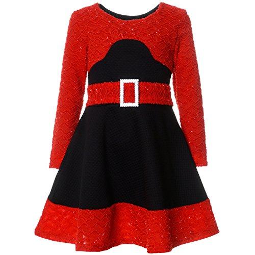 Mädchen Kinder Spitze Winter Kleid Langarm 21640, Farbe:Schwarz, Größe:152