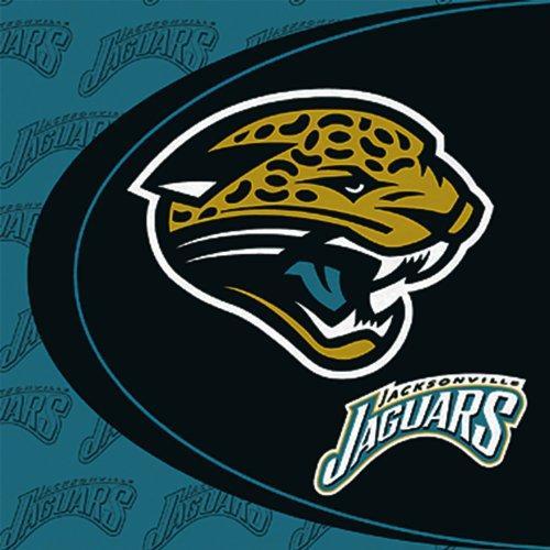 Jaguars Jacksonville Spielzeug (Hallmark 147855 Jacksonville Jaguars Lunch-Servietten)