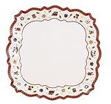Villeroy & Boch 14-8585-2580 Assiette de Service Toy's delight Arts de la Table de Noël Porcelaine Multicolore 27 x 27 x 4 cm