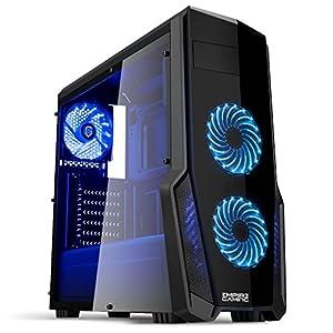 EMPIRE-GAMING-WarFare-PC-Gaming-unit-USB-30-3-x-120-mm-LED-Fans-Smoked-transparent-side-panel-ATXmATXmITX
