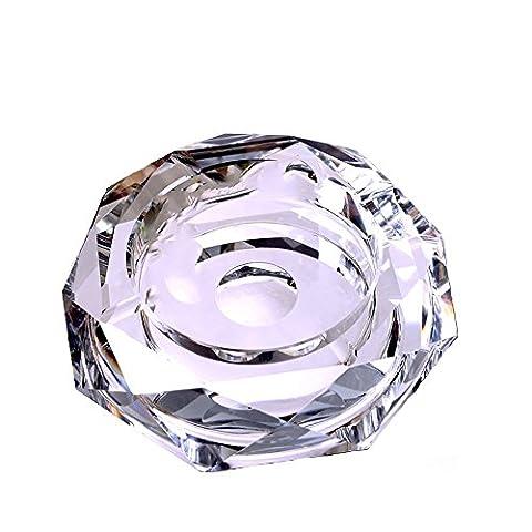Z & S Cristal Cendrier Creative personnalité Cadeau Cendrier a