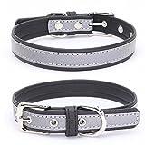 Balock Schuhe Welpen Hundehalsband,Einstellbare Mikrofaser Halsband Puppy Cat Halskette,Hundehalsbänder für Welpen,Katzen,für Mädchen Jungen (Schwarz, XS)