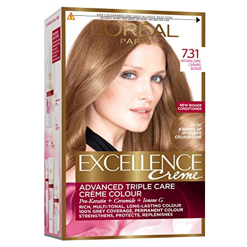 L \'Oreal Excellence Creme Haarfarbe-7.31blond caramel