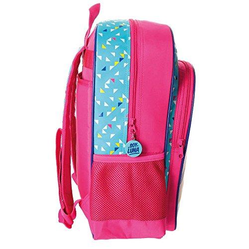 Imagen de disney 4852351 soy luna roller zone  escolar, 40 cm, 15.6 litros, multicolor alternativa