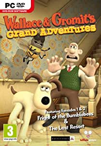 Wallace and Gromit: Grand Adventures Part 1 (PC DVD) [import anglais]