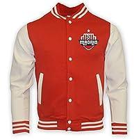 UKSoccershop Atletico Madrid College Baseball Jacket (red)
