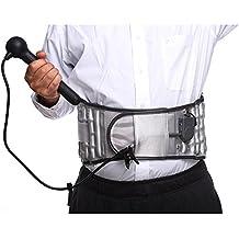 Old man Liu-Compresso caldo Trazione dell'aria spinale Cintura di supporto lombare Brace lombare della herniation del disco Cintura di trazione del midollo spinale