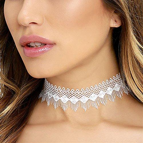 Halskette Kinder Lieben-familie 4 (Outflower Frauen Short Halskette Geometrische Lace Hollow Collar Kragen Kette Klavikulärkette Für Damen Halskette)