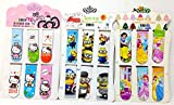 #5: Oytra Fancy Girls Print Magnetic Bookmarks Set For Book Lovers, 18 Pcs