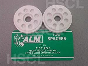 FL063 Blade Height Spacers to Suit Flymo FLY016, 5136240-01/6(ALM FL063)