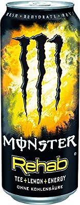 Monster Rehab Lemon, 12er Pack (12 x 500 ml)