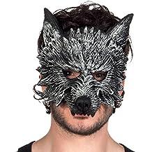 Boland Maschera Mezzo-Viso Lupo Mannaro Werewolf per Adulti 4c80c3445aeb