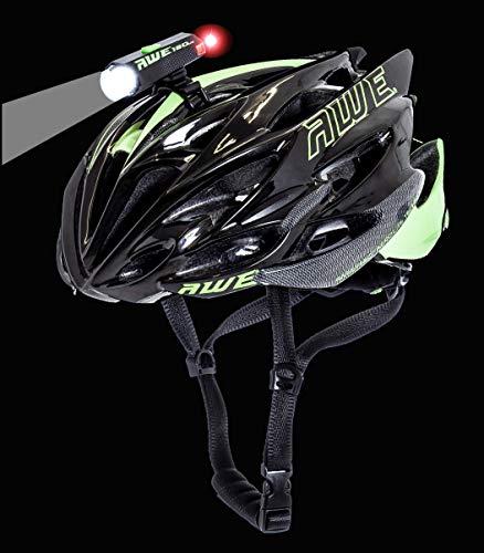 AWE AWEDual 360° MegaTM 150 lumens USB Double Casque Avant/arrière à LED