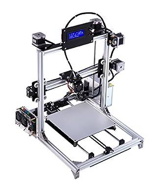 Prusa i3 3d Drucker DIY Kit RepRap Auto Nivellierung mit großen 3D Druck Größe Hohe Genauigkeit und Stabilität Beheiztes Bett LCD Display