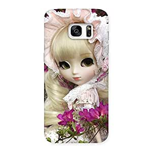 Delighted Angel Look Doll Back Case Cover for Galaxy S7 Edge