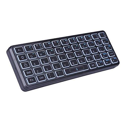 Kp-810-73b Bluetooth Backlight Mini Wireless Keyboard Für 4k Mi Box Unterstützt Windows/mac Os/Linux/tv Box