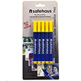 Safehaus Counterfeit Note Detector Marker Pen (Pack of 5)