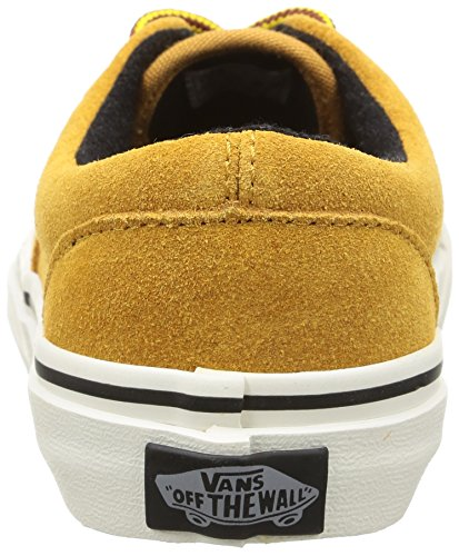 Vans K Era Suede, Baskets Basses Mixte Enfant Jaune (Suede/Honey/Marshmallow)