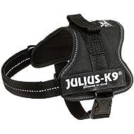 Julius-K9 162PM K9 PowerHarness for Dogs, Size Mini, Black