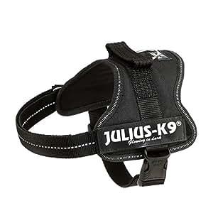 Julius K9 162P-M, Powerharness, Taille: M, Noir