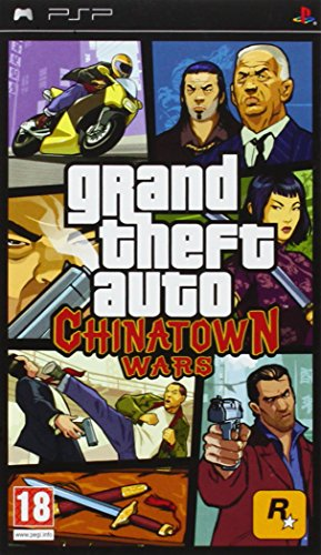 PSP Grand Theft Auto : Chinatown Wars (Eu) (Grand Theft Auto Chinatown Psp)