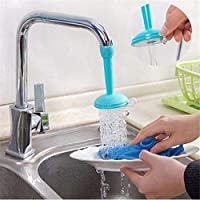 Our water-saving faucet can help you to solve the problem. The colour:yellow' > water-saving faucet device can control the flow of the water. And the flexible pvc tube could be turned into any direction to wash dishes, fruits, vegetables and do on...