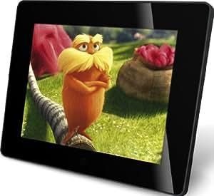 Rollei Designline 6081 HD digitaler Multi-Media-Bilderrahmen (20,3 cm (8 Zoll) TFT-LED HD Panel, 4GB interner Speicher) schwarz