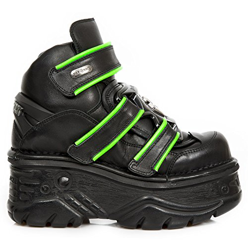 New Rock M.1078-S4 Green, black