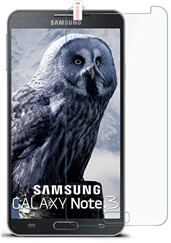moex 9H Panzerfolie für Samsung Galaxy Note 3   Panzerglas Bildschirm Glasfolie [Tempered Glass] Screen Protector Glas Bildschirmschutz-Folie für Samsung Galaxy Note 3 Schutzfolie
