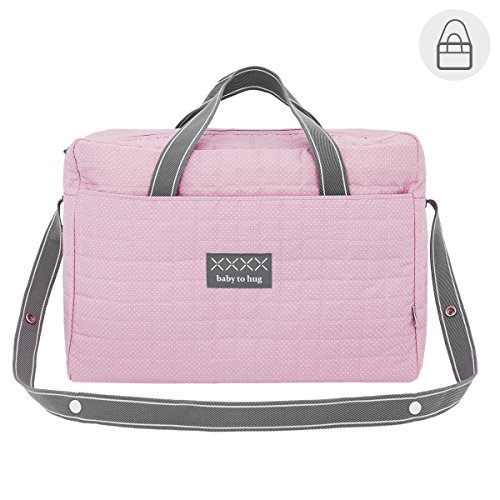 Cambrass 41374 Wickeltasche Koffer Pic, rosa