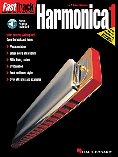 Fast Track: Harmonica - Book One (Fast Track Music Instruction)
