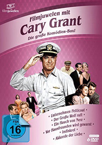 Cary Grant Box [6 DVDs]