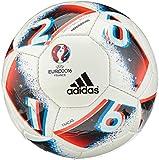 adidas Euro16 Hardground Fracas Fußball, White/Bright Blue/Solar Red/Silver Metallic, 5