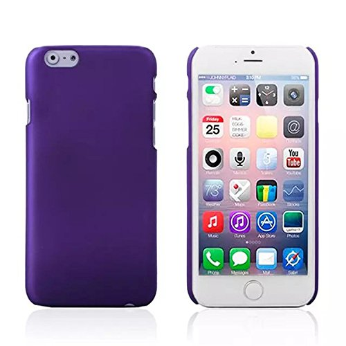 Slim Scrub PC Hard Back Case Housse de protection pour iPhone 6 violet