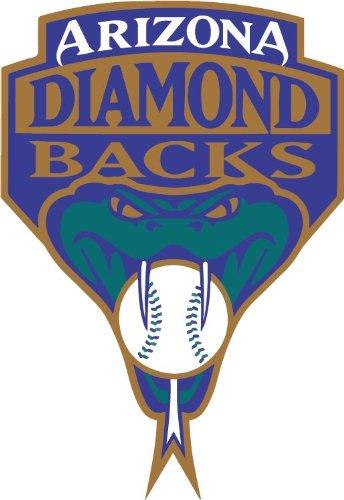Arizona Diamondbacks Logo MLB Baseball Hochwertigen Auto-Autoaufkleber 10 x 12 cm