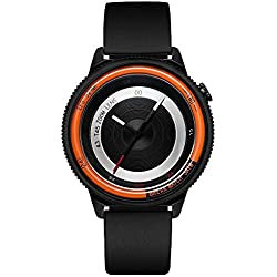 Break New Original Top Luxus Herren Damen Unisex Schwarz Rubber Strap Fashion Casual Quarz Einzigartige Fotografen Sport Cool Uhren