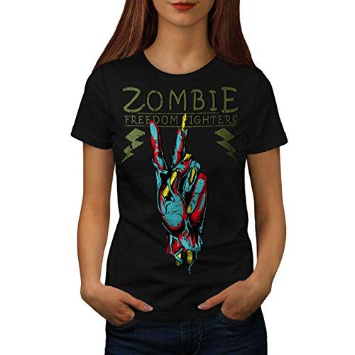 �mpfer Zombie Frau XL T-shirt (Zombie T Shirt Ideen)