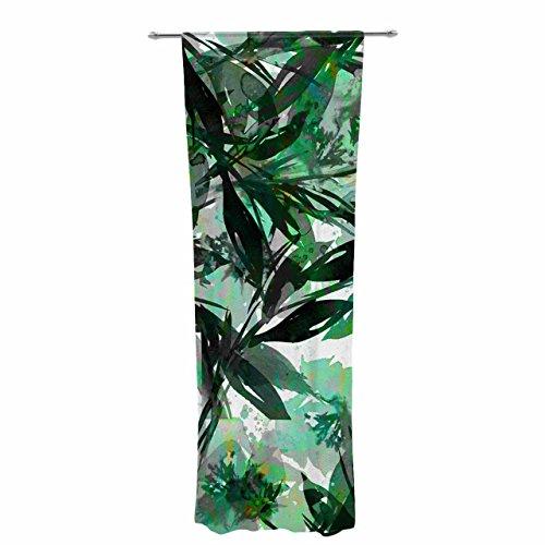 Kess eigene EBI Emporium Floral Fiesta Grün Sheer Vorhänge, 76,2x 213,4cm (Sheer Grün)