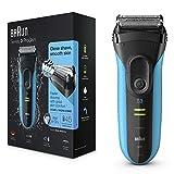 Braun Series3 ProSkin3040s Rasoir Électrique Homme Barbe Wet & Dry; Bleu