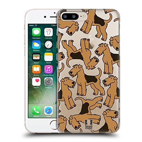Head Case Designs Airedale Terrier Hunderasse Muster 4 Ruckseite Hülle für Apple iPhone 5 / 5s / SE Airedale Terrier