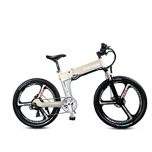 "51  uf03FwL. SS500  - GTYW Electric Folding Bicycle Mountain Bicycle Adult Bicycle - 26""-90km Life"
